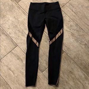 Fabletics black and metallic leggings NEW